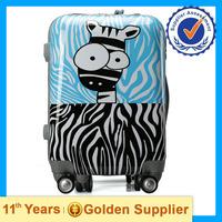 2015 popular school trolley bag, cute cartoon trolley bag for girls