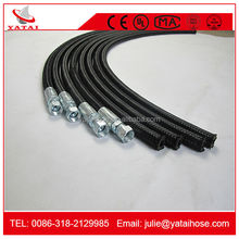 China A Single Wire Braid And A Fiber Braided Cover Hydraulic Hose