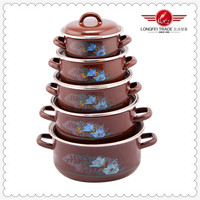 Enamel Casserole Pot Biryani Cook Pot Hot Sale