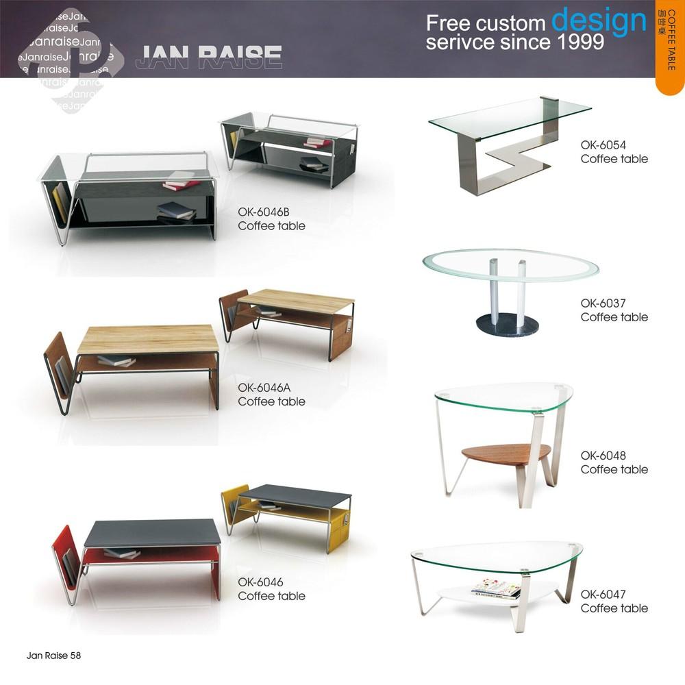 홈 가구 거실 커피 테이블 현대적인, 유리와 대리석 커피 테이블 ...