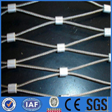 stainless steel wire rope netting/decorative wire rope mesh