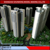 Residential Maquette construction building model