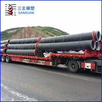 hdpe underground water pipe materials