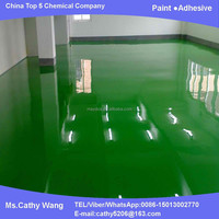 Maydos two component Self Leveling scratching resistance Epoxy Rubber Floor coating(China paint/Maydos Paint company)