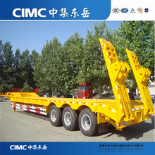 CIMC Factory Price Low Bed Trailer With Dolly