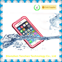 Levin Waterproof Case IP 68 Underwater Waterproof Shockproof Snowproof Dirtpoof Protective Case Cover for iphone 6