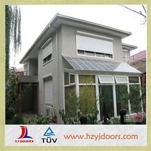 shopping center aluminum material roller type sound insulation roller shutter window