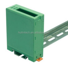 Green plastic PCB Dinkle electronics enclosures