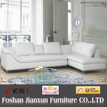 F009 Modern design italian leather european couch
