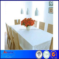 Colored Plastic Christmas Table Cloth