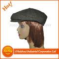 fábrica de China, gorra de algodón con bordado personalizado , gorra plana de hiedra