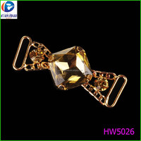 Shoe Decorations Type and Metal,Stainless Steel & rhinestones Material Shoe Clip