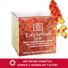 OEM OBM best seller 2015 Laysmon UV/30 Anti Aging Remove Pimples Acne Day Cream