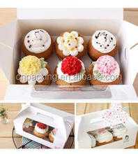 cute cupcake packaging with 6pcs