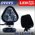 Ovovs alta lúmen mini 12 v luzes led 30 w offroad lâmpada para jeep trator