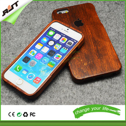 hot sale custom design protective hard rosewood wood phone case supplier, for iphone 5 6 6 plus wooden cell phone case
