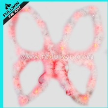 pink feather angel wings fashion patry decoration