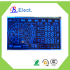 negative autoreclose circuit-breaker lcd display, segment module with blue led
