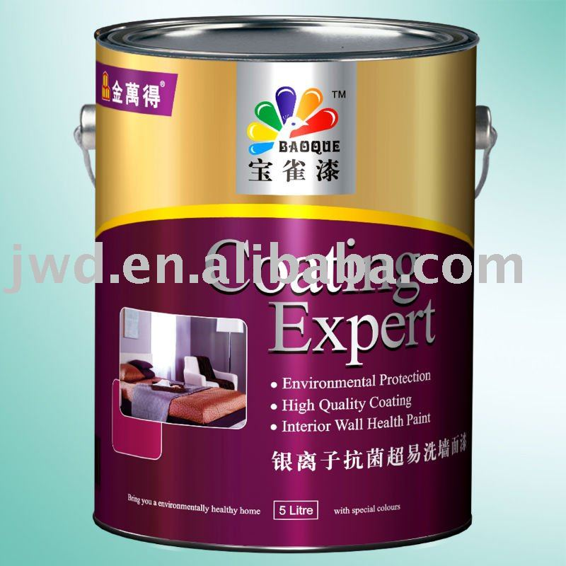 super resistencia a los álcalis de látex de la pared interior de pintura de recubrimiento