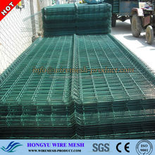 diamond shape wire mesh fence/plastic removable fence/metal fence post supports