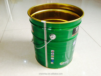 16L Tinplate drum with steel handle for paint, coating or other chemical products