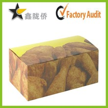 2015 professional custom made food grade fried chicken packaging boxes