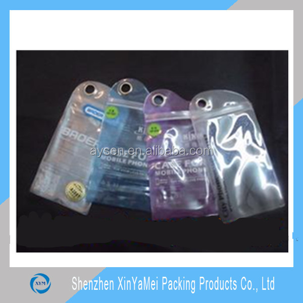 Wholesale colorful Packaging bag for mobile phone shell