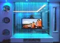 fiber optic led lighting with 7colors for indoor showcase,door,window wall decoration