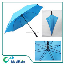 auto open wind resistant blue advertising golf umbrella