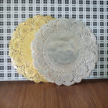 9.5 inch silver round paper doilies cardmaking decoration doily favors