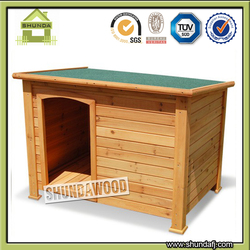 SDD07 Flat Roof Dog Kennel House for Sale
