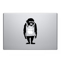 Hot Sale Cute Banksy Styling Vinyl Decal Sticr Skin for Apple Laptop for MacBook Air/Pro 11 13 15 Computer Wall Decor
