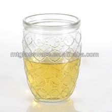 3 in 1 Cheap Tealight Glass Jar for Candle holder for drink for dessert