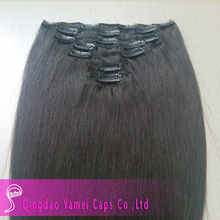 Staight Human Remy Clip In Hair Extension ,Clip Hair