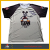 100% Polyester Sport Run Shirts