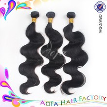 Top sell 7A factory wholesale 100% malaysian loose wave virgin hair weaving weft