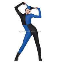 Embrace the mischievous ways- amazing long sleeve unitard-two colors tight sex leotard