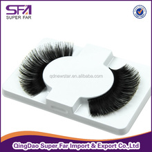 cosmetic wholesale artificial human hair eyelash,best type human hair extensions