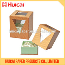 Personalizado caja de perfume de lujo papel impreso de envasado de perfumes