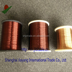 Round Enamelled Copper Wire For Rewinding Motors MSS Magnet Wire, Copper Wire, AWG 19, Single Enamel Insulation, high temperatur