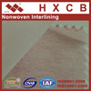 Fusible Non Woven Interlining Polyester Stitch Bonded Garment Accessory Fabric
