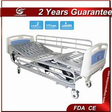 Function adjustment 3-function electric king adjustable bed