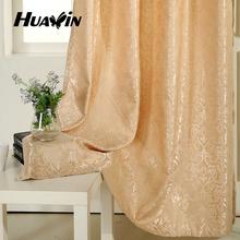 Jacquard european flower pattern luxury european style window curtain