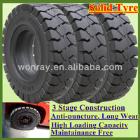 Top Sales 6.50-10 7.00-12 21x8-9 28x9-15 8.15-15 Solid Tires for Forklifts