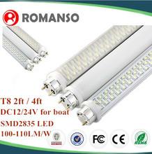 12v g4 led light fixture 4 feet dimmable led t8 tube fluorescent light t8 waterproof fluorescent lighting fixture