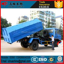 ราคาโรงงานรถบรรทุกขยะdongfeng12m3เบ็ด, รถบรรทุกขยะ4x2