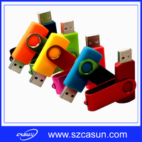 Hot sell swivel bulk 1gb cheap usb flash drive