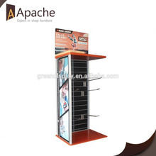 Sample available store 5 tier wallet display stand