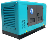 guangzhou factory price diesel power electric slient generator set genset 15kw water cooled single cylinder diesel generator