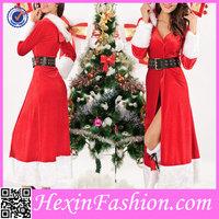 Latest Design Womens Fancy Dress Santa Claus Costume